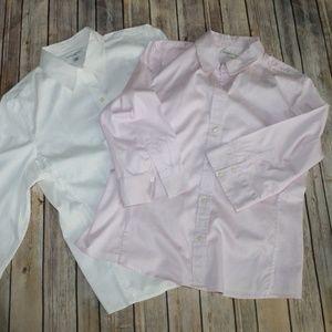2 Banana Republic Fitted Button Shirt HW4169